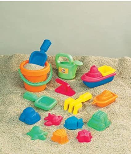 Para tu estilo de juego a los precios más baratos. Small World Toys Sand & Water - 15-pc Sand Toy Toy Toy Set Asst by Small World Toys  entrega rápida