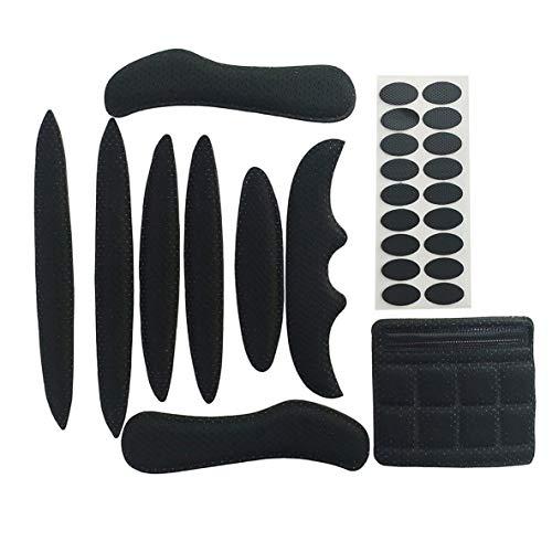 Forro para casco, Sk-202 Kit de acolchado para casco Juego de almohadillas de espuma universales Juego de almohadillas para casco Airsoft universales para bicicleta, motocicleta, ciclismo, casco