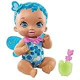 My Garden Baby Mariposas ¡Ñam ñam! Arándano Muñeco de juguete con alas de mariposa, boca cambia de color, regalo para niñas y niños +18 meses (Mattel GYP01)
