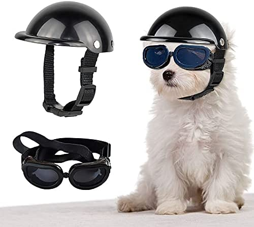 Enjoying Dog Ranking TOP8 Goggles Doggy UV Sunglasses Bundle with Motorcycle New arrival