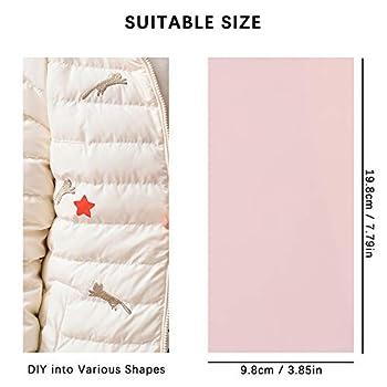Lot de 24 patchs adhésifs en tissu, 24 couleurs, imperméables et légers, pour réparation de vêtements, doudoune, tente, sac de couchage (20 x 10 cm)