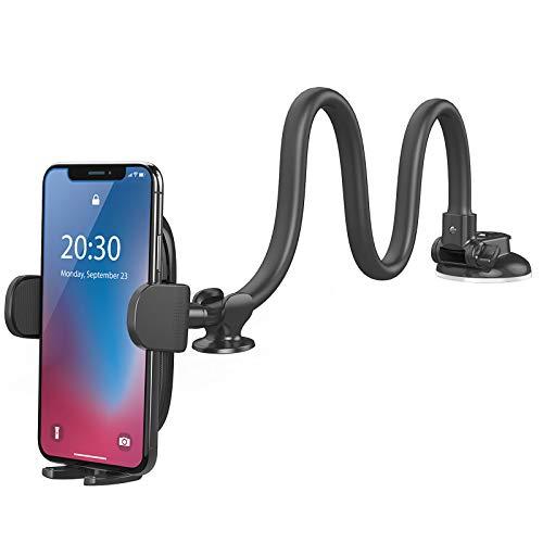 Windshield Car Phone Mount - OQTIQ Upgraded 13-Inches Long Arm...