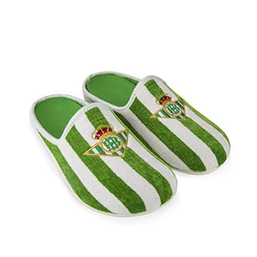 Zapatillas Betis Rayas Zapatillas de Estar por casa Hombre Invierno Otoño - 44.5 EU
