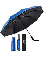 折りたたみ傘 自動開閉 軽量 丈夫 ワンタッチ 日傘 UVカット 遮光遮熱 UPF50+ 晴雨兼用 おりたたみ傘 メンズ 台風対応 梅雨対策 大きい 超撥水 収納ポーチ付き