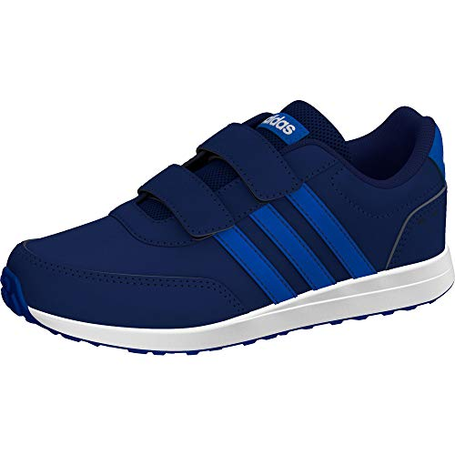 adidas Unisex-Kinder Vs Switch 2 Cmf Sneaker, Dark Blue/Footwear White/Blue, 35 EU