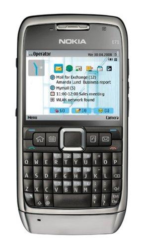 Nokia E71 2.36' 1500mAh Grey - Smartphones (5.99 cm (2.36'), 320 x 240 pixels, Grey)