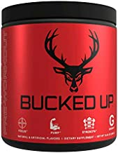Bucked Up Pre Workout 6 Grams Citrulline, 2 Grams Beta Alanine, and 3 Other Registered trademarked Ingredients (Watermelon)
