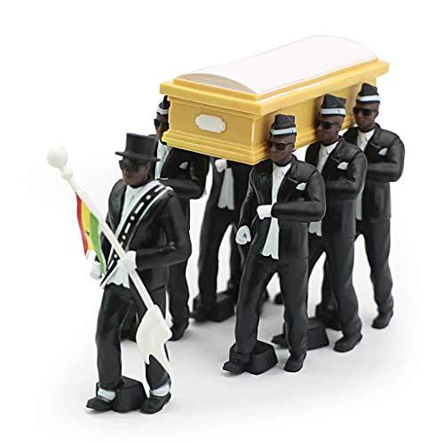 Mikiya Cosplay Ghana Tanzen Sargträger Coin Tanz Abbildung Aon Funeral-Team anzeigen Luig Zubehör