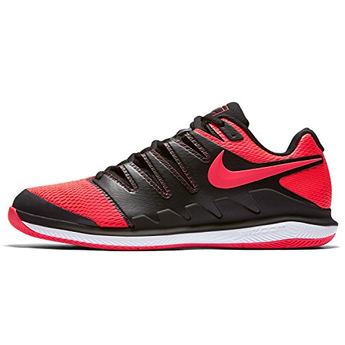 Nike Damen WMNS Air Zoom Vapor X Hc Fitnessschuhe, Mehrfarbig (Black/Solar Red-Whit 006), 44 EU