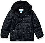 Columbia Boys' Big Rugged RidgeSherpa Lined Jacket, Black, Large