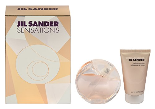 Jil Sander Sensations Geschenkset (Eau de Toilette Spray 40ml + Body Cream 50 ml)