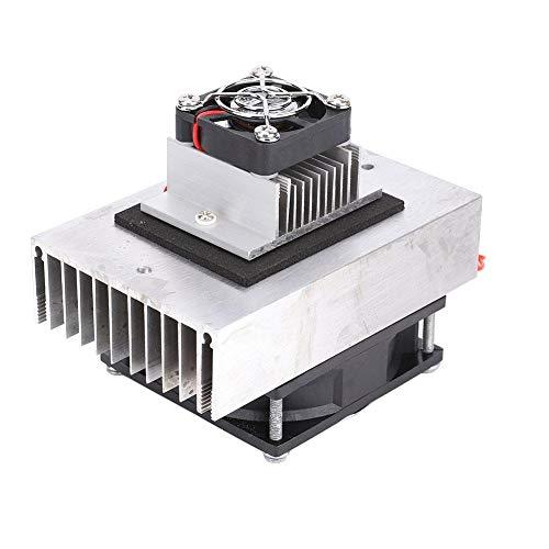 Gorgeri Aluminium 1 Stücke DC12V Halbleiter Kühlschrank/Kühlsystem DIY Kit Mini Klimaanlage