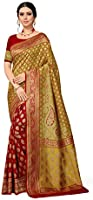 Aaparam Fashion Women's Banarasi Art Silk Saree