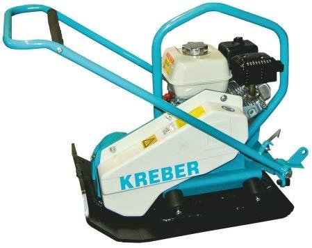 KREBER Rüttelplatte K12RPS-370 Bodenverdichter 12 kN Vibrationsplatte GX160