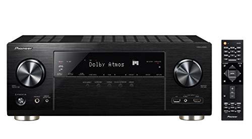 Pioneer 9.2 AV Receiver, VSX-LX303, 170 Watt/Kanal, 4K UltraHD Durchleitung, Dolby Atmos, DTS:X, WLAN, Bluetooth, Hi-Res Audio, Streaming, Musik Apps (Spotify u.a.), Internet Radio, Multiroom, Schwarz