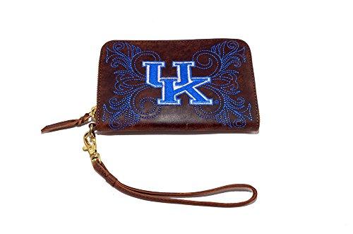 NCAA Damen Handgelenk Gameday, Damen, Kentucky, Messing, 8x5x1/2