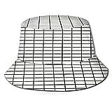 Sombreros de Cubo Plegables,Escalera y Pared,Sombrero de Pescador Unisex con protección UV,Gorra de Playa para el Sol,Sombreros de Viaje de Verano para Hombres y Mujeres