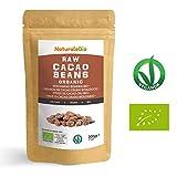 Granos de Cacao Crudo Ecológico 200g. 100 % Bio, Natural y Puro. Cultivado en Perú a partir de la planta Theobroma cacao. Superalimento rico en antioxidantes, minerales y vitaminas. NATURALEBIO