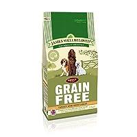 James Wellbeloved Dog Food Grain Free Turkey and Veg Adult (1.5kg) 1.5kg James Wellbeloved Quantity: 1
