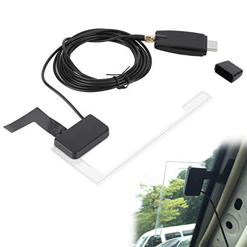 DAB Radio Receiver Car Kit Transmisión de audio digital DAB DAB + Box Adaptador de receptor de radio con antena para Android 4.2 y versiones posteriores Máquina de navegación con DVD para automóvil