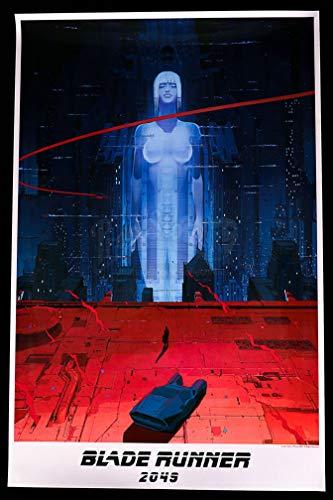 GZSGWLI Blade Runner 2049 Movie Poster Art Print 24x36 inches (60.96x91.44cm) Art Silk or Canvas