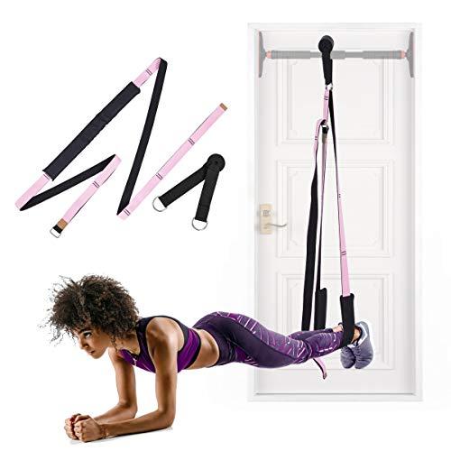 Hivexagon mehrzwecktür flexibilität assistent Stretch Band, Improve Back & Taille flexibilität, geeignet für Indoor Fitness, Tanz, Yoga, Gymnastik