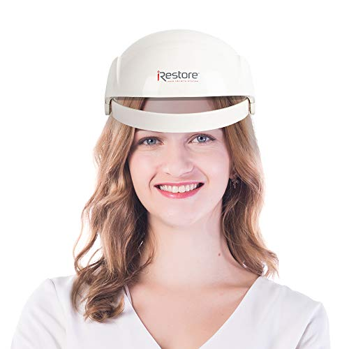 I_Restore Hair Thinning, Hair Growth Man, Women Hair Growth, Red Light for Hair Growth For Men & Women Device, Hair Loss for Men & Women Helmet & Cap System, Regrowth Treatment System for Hair Loss