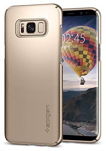 Spigen Cover Thin Fit Compatibile con Samsung Galaxy S8 - Maple Gold