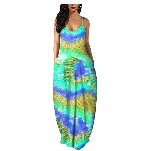Frauen Sommer lässig Schmetterling Print Retro Rock Kurzarm Kleid Printed Sommer V-Ausschnitt Blumendruck Beach Sundress Casual Dress Cocktail Beach Dress