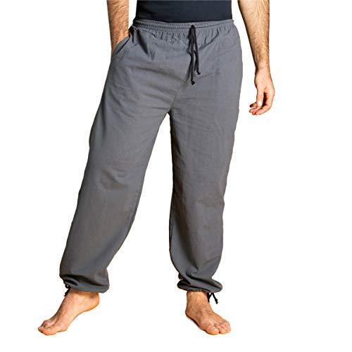 PANASIAM E\'Pants Long, Cotton, d.Grey, L