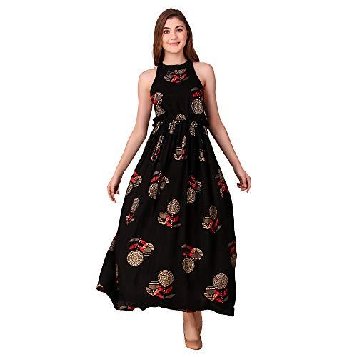 Daevish Women's A-Line Maxi Dress