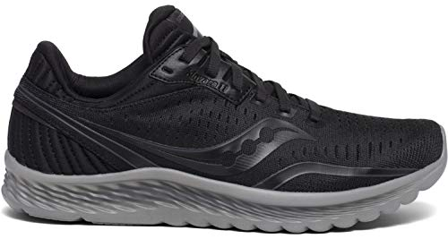 Saucony Men's S20551-35 Kinvara 11 Running Shoe, Blackout - 10.5 M US