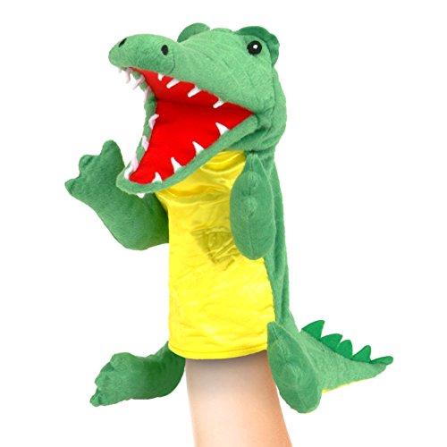 Fiesta Crafts-T-2740 T-2740 Marionnette en Crocodile Assortiment, Divers