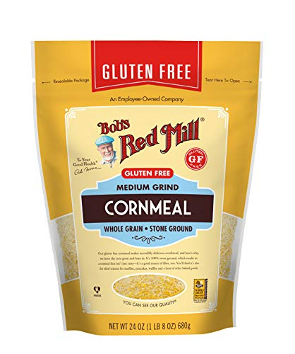 Bob's Red Mill, Corn Meal, Gluten Free, 24 Ounce (Case of 4)