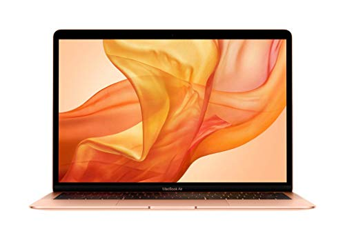 Apple MacBook Air (de 13 pulgadas, Último Modelo, 8GB RAM, 256GB de almacenamiento, Intel Core i5 a 1,6GHz) - Oro