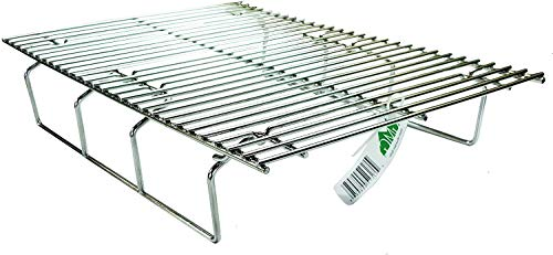 Green Mountain Grills GMG-6033 Collapsible Upper Rack for Jim Bowie Pellet Grill, Stainless Steel