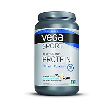 Vega Sport Protein Powder, Vanilla, 1.83 lb, 20 Servings