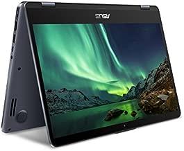 Asus TP410UA-IB72T Vivo Book Flip 14 Thin and Light 2-in-1 FHD Touchscreen Laptop, Intel Core i7 CPU, 16GB RAM, 256 SSD, Windows 10 Home, Star Grey