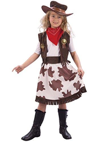 Rire Et Confetti - Ficcow027 - Déguisement pour Enfant - Cow Girl