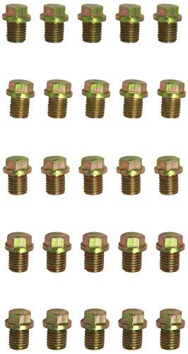 KS tools ölablassschraube, außen6kant de 17 mm demi-ronde, m12 x 1,5 x 13 mm-pack de 25 pièces, 430.2014