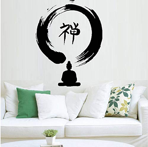 zhangsh Arte Pegatinas De Pared Enso Círculo Buda Zen Budismo ...