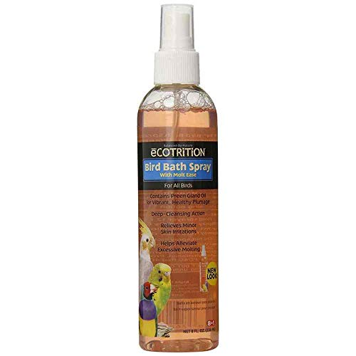 eCOTRITION Bird Bath Pump Spray - 8 oz.