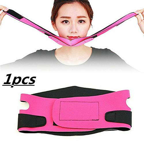 FWSS Anti-Aging Slimming Slim Double Chin Face Bandage Slim Lift Up Anti-rimpel Masker Band Band V Face Line Belt Beauty Tool 1 stuks