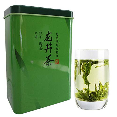 Nuevo 5A + Chinese Top Grade Lago Oeste Spring Longjing Té Verde Dragon Well Tea Long Jing Gift Packing China Green Food Gift Embalaje té