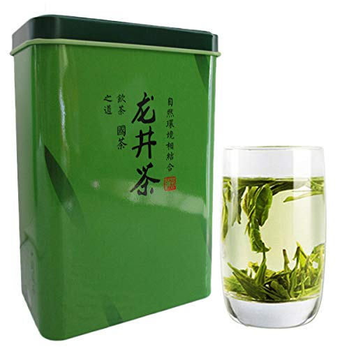 Nuevo 5A + Chinese Top Grade Lago Oeste Spring Longjing Té Verde Dragon Well Tea Long Jing Gift Packing China Green Food Gift Embalaje té