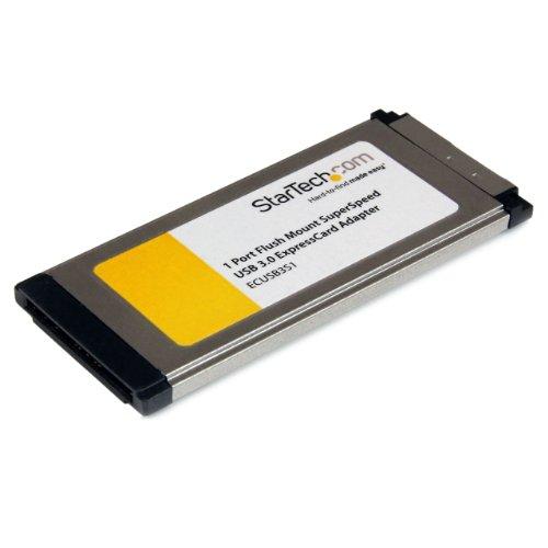 StarTech.com ECUSB3S11 - Tarjeta adaptadora ExpressCard USB 3.0 de 1 Puerto con...