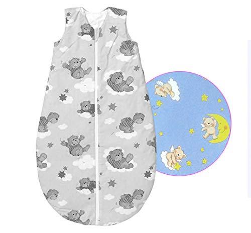 Baby Nice bei Odenwälder wattierter Schlafsack 130 cm Unisex- Basic-Schlafsäcke zum Knallerpreis! 3-6 Jahre
