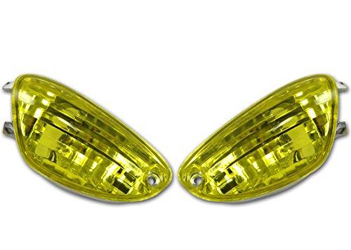 TopZone TZS-FTS-100-Y Turn Signal Suzuki Gsxr 600/750 06-10 / 1000 05-08 Yellow,1 Pack