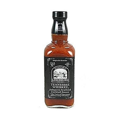 Historic Lynchburg Tennessee Whiskey Jalapeno Seafood Cocktail Sauce