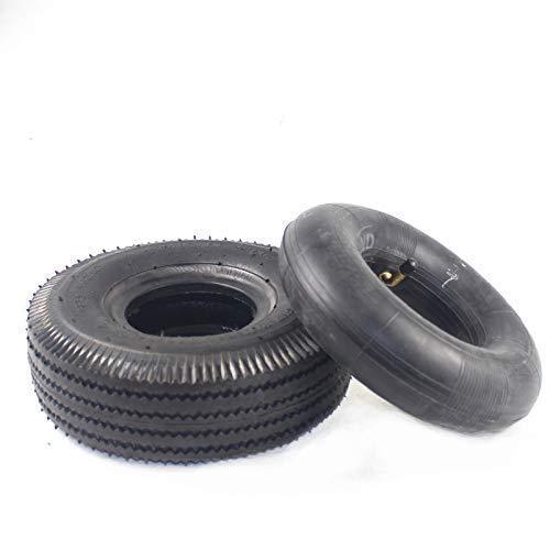 Neumático Interior Y Exterior De 10 Pulgadas 4.10/3.50-4 Apto para Triciclo Eléctrico,...